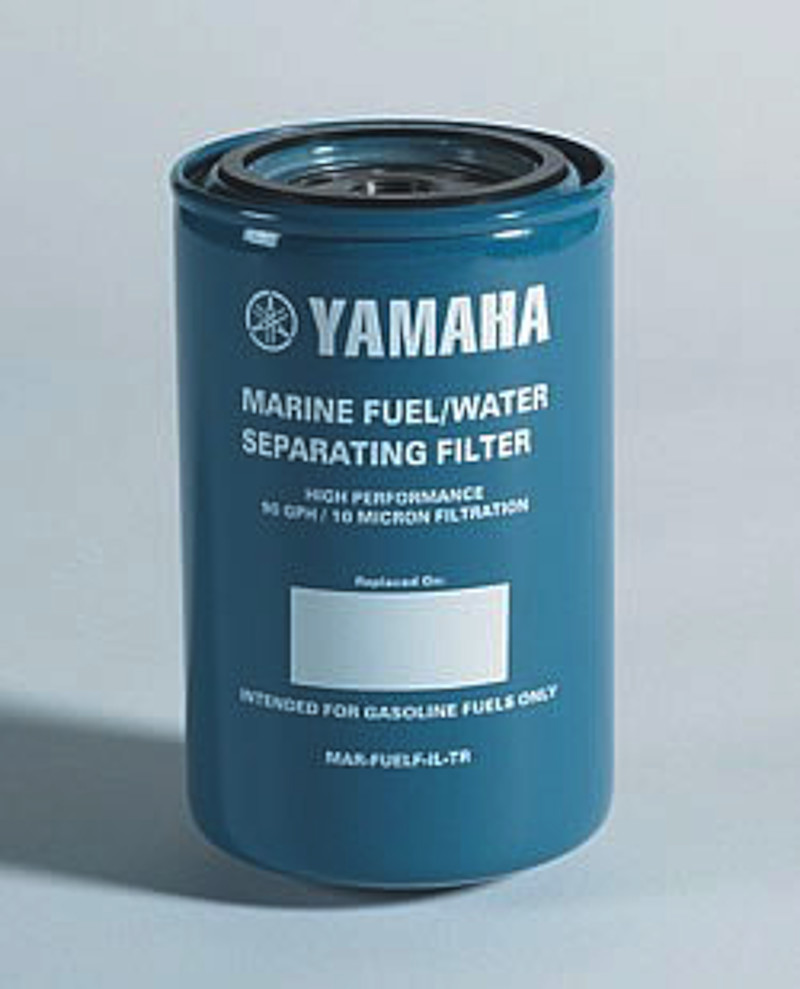 New 10 micron fuel water separating filter from yamaha for Yamaha outboard fuel filters
