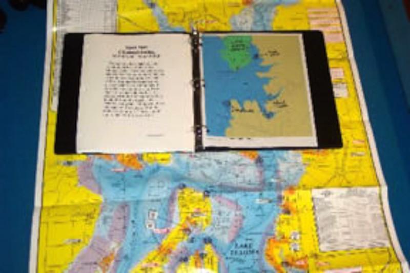 lake texoma map