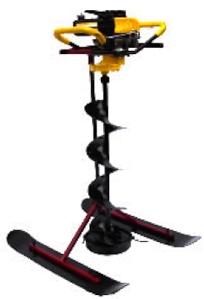 Introducing the Auger Buddy Power Ice Auger & Ice Fishing Equipment