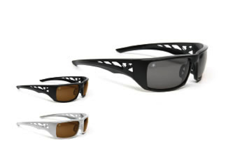 64239c6112 Spiderwire Arachno Signature design features an aggressive bold profile  with full view 0.65mm TAC lens which are polarized and scratch resistant.