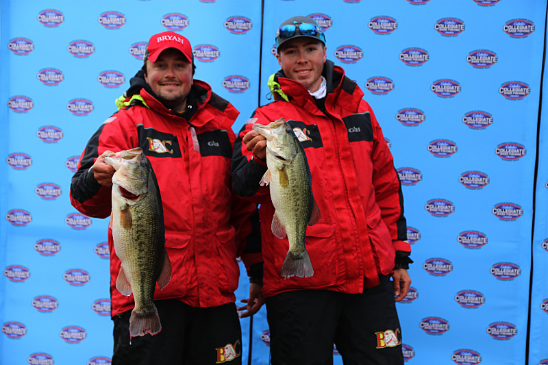 Bryan college takes the lead in cabela 39 s school of the for Cabelas college fishing