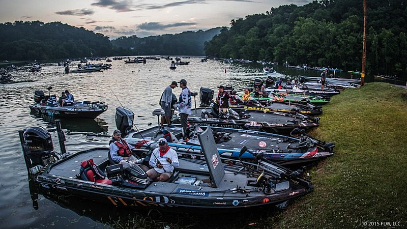 Lake Chickamauga Readies For Yeti Flw College Fishing Event Presented By Bass Pro Shops Fishingworld Com